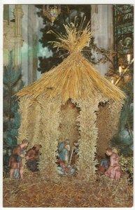 Essex; Crib At Xmas, St Mary's Church, Dedham PPC By Jarrold, Unused, c 1970's