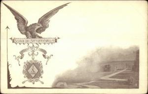 Italy Military School Scuola Dei Sottufficiall 1888 - Postcard