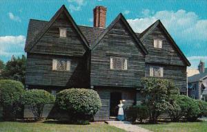 Old Witch House Salem Massachusetts