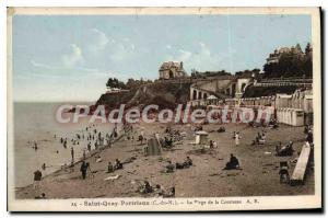 Old Postcard SAINT-QUAY-PORTRIEUX beach Countess