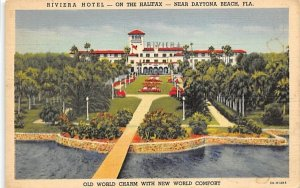Near Dayton Beach, Riviera Hotel - On the Halifax Daytona Beach, Florida