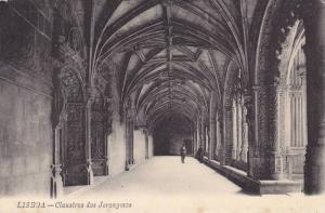 Lisboa , Portugal , 00-10s ; Claustros dos Jeronymos