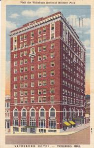VICKSBURG, Mississippi, 1930-1940's; Vicksburg Hotel