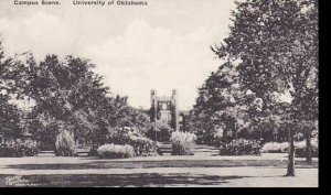 Oklahoma Norman Campus Scene University Of Oklahoma Albertype