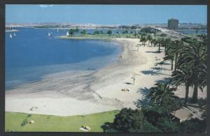 Mission Bay Park San Diego Beach California Postcard