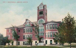 ASHLAND , Oregon , 1900-10s ; High School