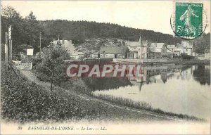 Old Postcard CARS OF THE ORNE The-Lake