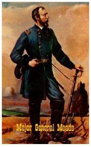 Pennsylvania Major General George Gordon Meade ,Battle Gettysburg