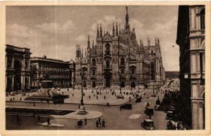 CPA AK Milano Piazza del Duomo ITALY (592218)