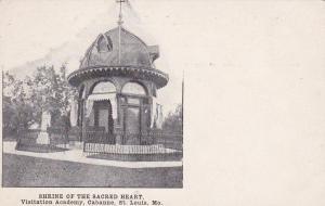 ST. LOUIS, Missouri, 1900-1910's; Shrine Of The Sacred Heart