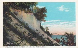 Michigan Eagle Nest Bluff Traverse Bay Near Old Mission