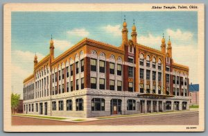 Postcard Tulsa OK c1934 Akdar Temple Akdar Shrine Masonic Temple Defunct