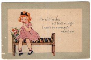 I'm a little shy, but that's no sign I won't be someone's Valentine