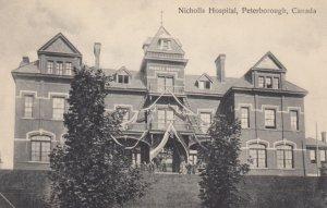 PETERBOROUGH, Ontario, Canada, 1900-10s; Nicholls Hospital