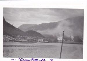 RP: OCEAN FALLS , B.C., Canada, 1945