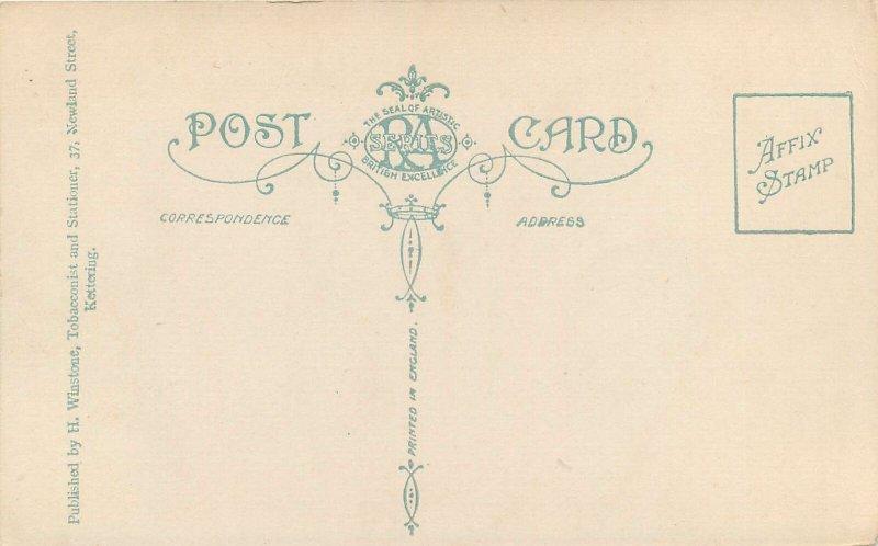 Postcard England Kettering Kingsley Avenue
