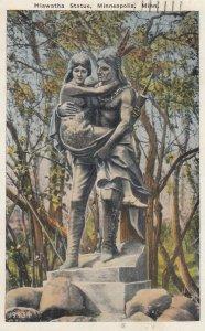 Hiawatha Statue , Minneapolis , Minnesota , 1933