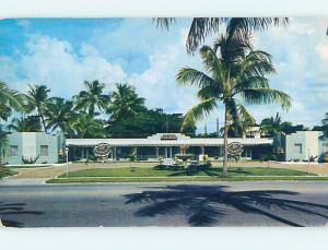Pre-1980 FOUNTAIN MOTEL West Palm Beach Florida FL M1741