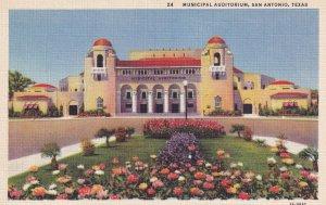 SAN ANTONIO, Texas, 1930-1940's; Municipal Auditorium