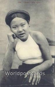 Vietnam, Viet Nam,  Nhân Vật Tonkin Jeune Femme