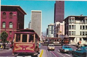 California San Francisco Powell Street Cable Car Line 1977