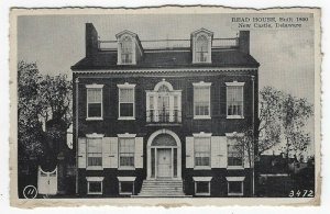 New Castle, Delaware, Vintage Postcard View of Read House