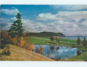 Unused Pre-1980 TOWN VIEW SCENE Alma New Brunswick NB p8843
