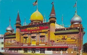 South Dakota Mitchell The Worlds Only Corn Palace Is Located In Mitchell 1963