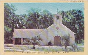 Florida Green Cove Springs Sacred Heart Catholic Church Dexter Press
