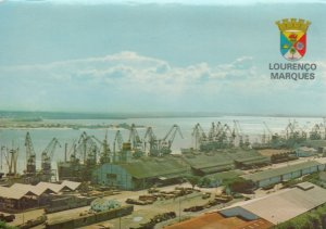 LOURENCO MARQUES , Mozambique , 50-70s Waterfront