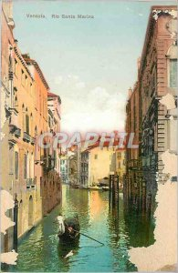Old Postcard Rio Venezia Santa Marina