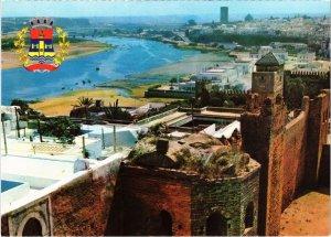 CPM AK MAROC - Panorama des Oudaias a RABAT (87347)