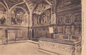 Italy Perugia La Sala d'Udienza del Collegio del Cambio