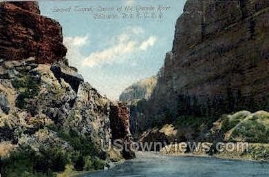 Second Tunnel. Canon of the Grande River
