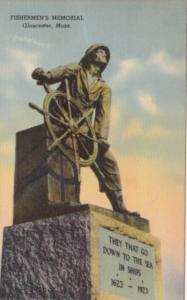 Massachusetts Gloucester Fishermen's Memorial 1942