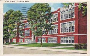 High School, Taunton, Massachusetts, PU-1937