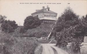 Block House, Fort McClary, KITTERY POINT, Maine, 1900-1910s