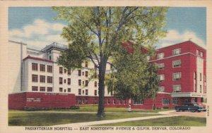 Colorado Denver Presbyterian Hospital Nicholson Wing & Taylor Add Curteich s1853