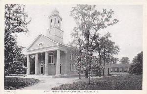 South Carolina Cheraw First Presbyterian Church