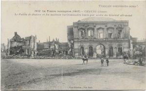 Military - WW1 La France reconquise 1917 chauny aisne 01.30