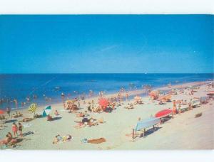 Unused Pre-1980 LONG ISLAND BEACH SCENE Published In Riverhead New York NY d6624