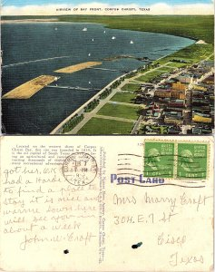 Airview of Bay Front,  Corpus Christi, Texas