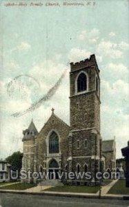 Holy Family Church - Watertown, New York