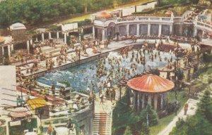 BUDAPEST , Hungary , 1930s ; Hotel St. Gellert , Swimming Pool