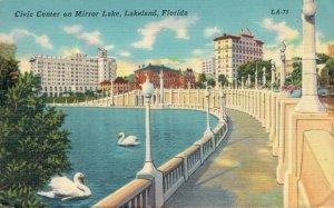 USA Lakeland Florida Civic Center on Mirror Lake 03.31