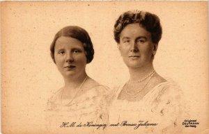 CPA AK H.M.de Koningin met Prinses Juliana DUTCH ROYALTY (784785)