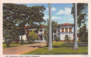 Manila Philippines Malacanan Palace Manila Malacanan Palace