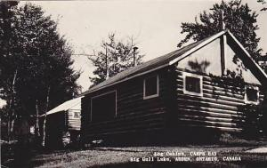 RP, Log Cabins, Camps Bay, Big Gull Lake, Arden, Ontario, Canada, 1920-1940s