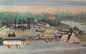 Yarmouth Maine Down-East Village Vintage Postcard JA4741430