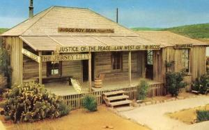TX - Langtry, Judge Roy Bean's Office